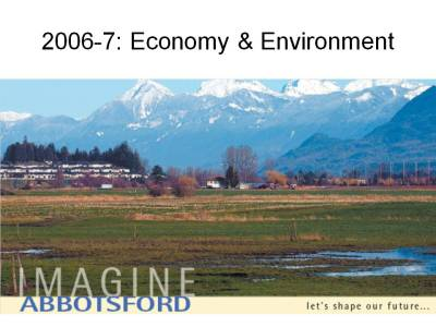Imagine Abbotsford Economy & Environment