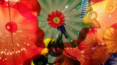 Gaia's Reflective Organs? (Image from Chihuly Glass Gallery Seattle)
