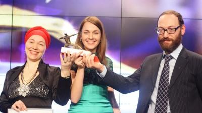 Lev Gordon & Team ARGO Receiving Silver Archer 2014